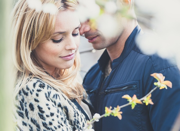 Shoreditch Engagement Shoot, Claire & Anderson