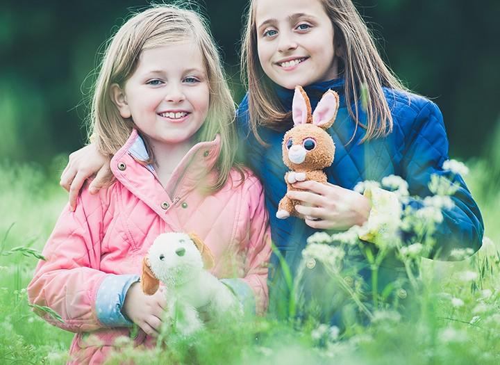 Abingdon family photography, Libby & Izzy