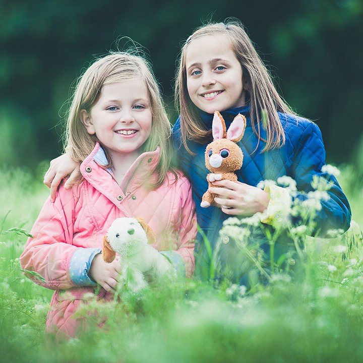 Abingdon family photography, Libby & Izzy