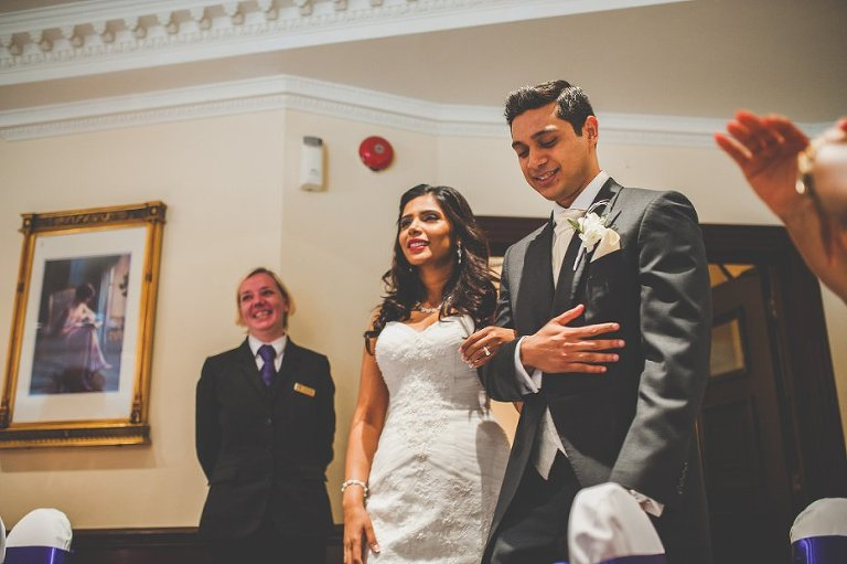Relaxed wedding photography