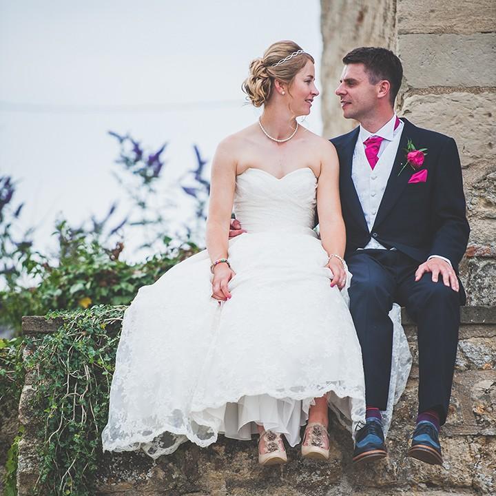 Buckinghamshire wedding photographer, Summer marquee wedding