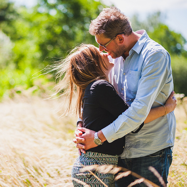Cotswolds Engagement photography, Joanna & Simon