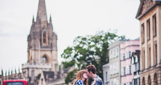 Merton college engagement shoot, Vicky & Ollie