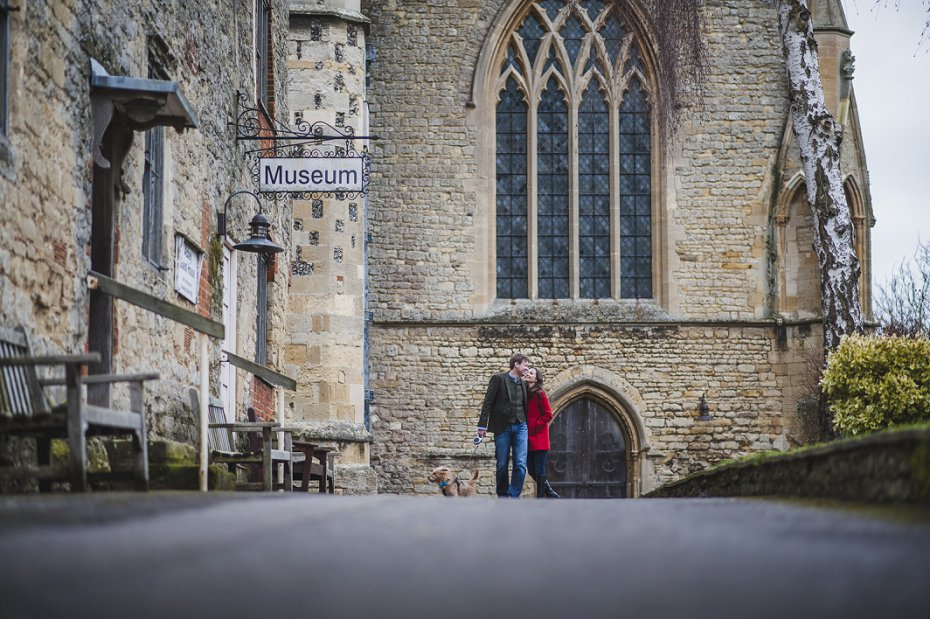 Dorchester Abbey Engagement photography