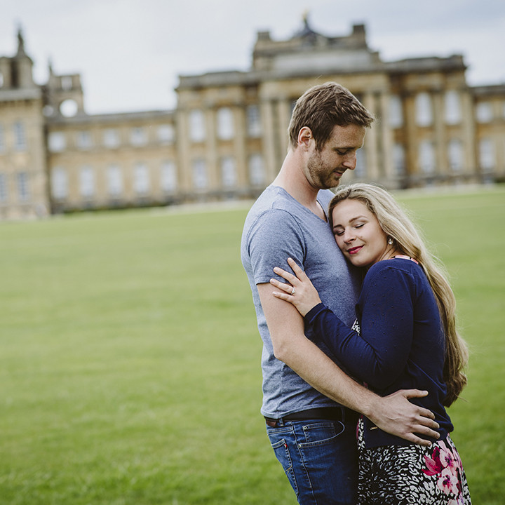 Blenheim Palace Engagement photography