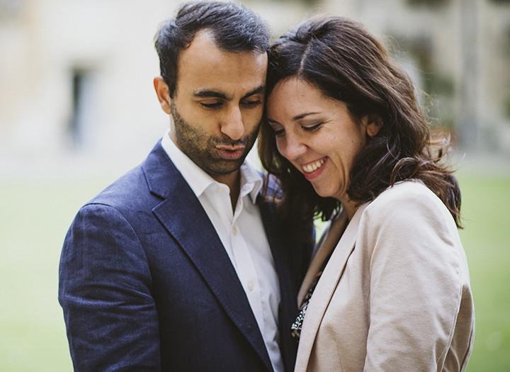 Oxford Engagement Photos, Noreen & Pritesh
