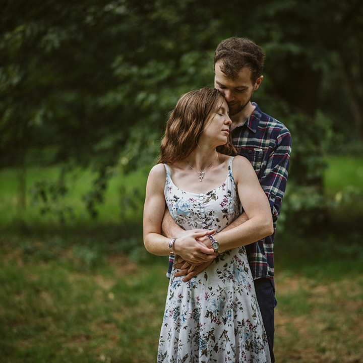 Oxford Engagement photography, Veronica & Alun