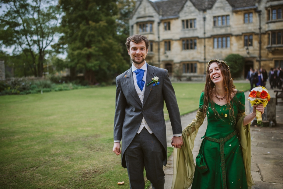 Merton College wedding