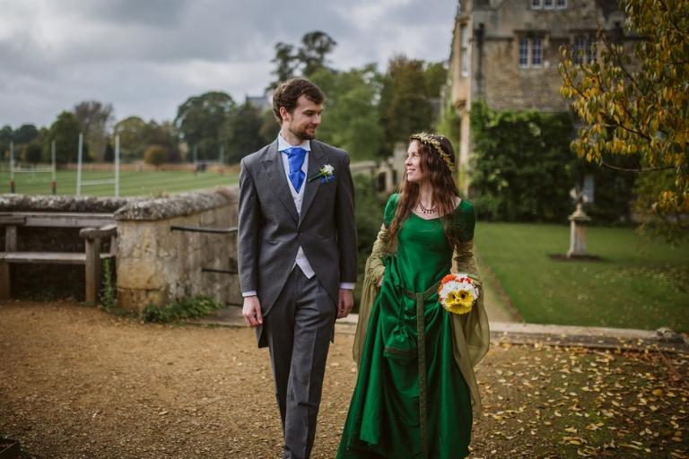 Merton College wedding