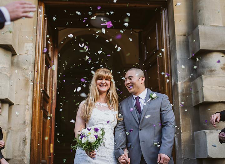 Intimate Bath guildhall wedding, Laura & Henry