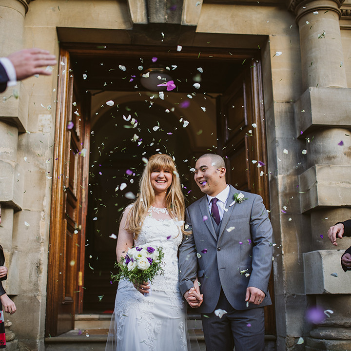 Intimate Bath guildhall wedding, Laura & Henry