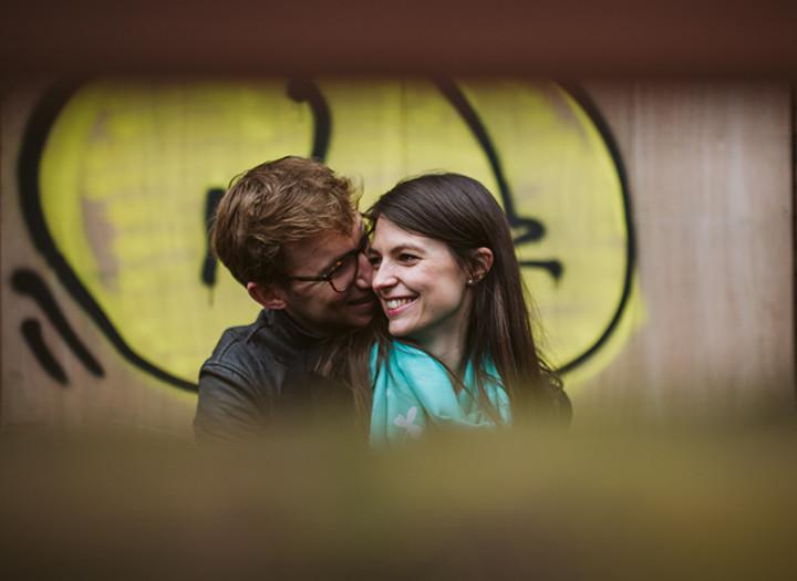 London Engagement shoot, Gemma & Peter