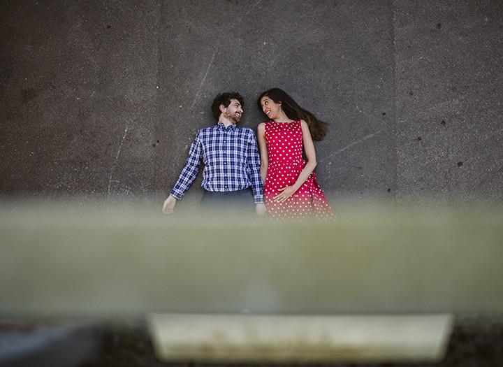 Oxford Engagement Photos, Mehvish & Shane