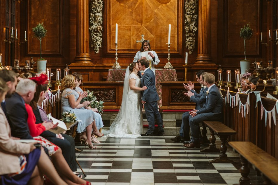 Trinity College Wedding