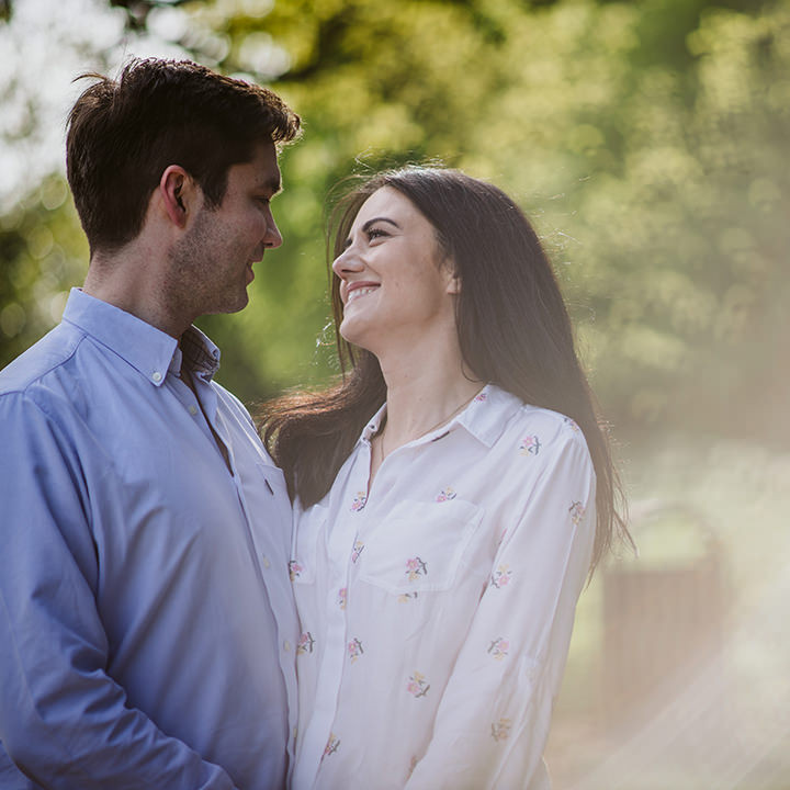 Oxfordshire Engagement photography, Sophie & William