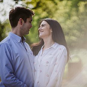 Oxfordshire Engagement photography, Sophie & William