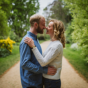 Oxford Engagement Photography, Suzanne & James