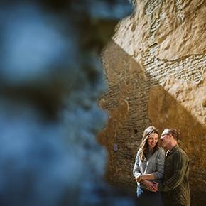 Minster Lovell Engagement photos, Teaguen & Keith