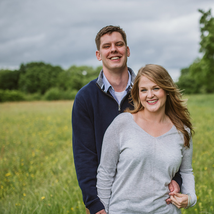 Wiltshire Engagement photography, Carly & Pete
