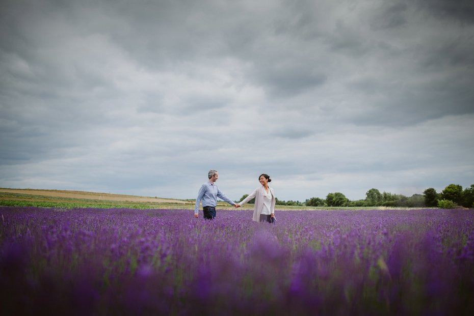 Hitchin Lavender - Kathy & Liam - Lee Dann Photography-1011