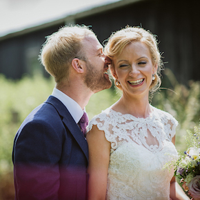 Notley Tythe Barn Wedding, Suzanne & James