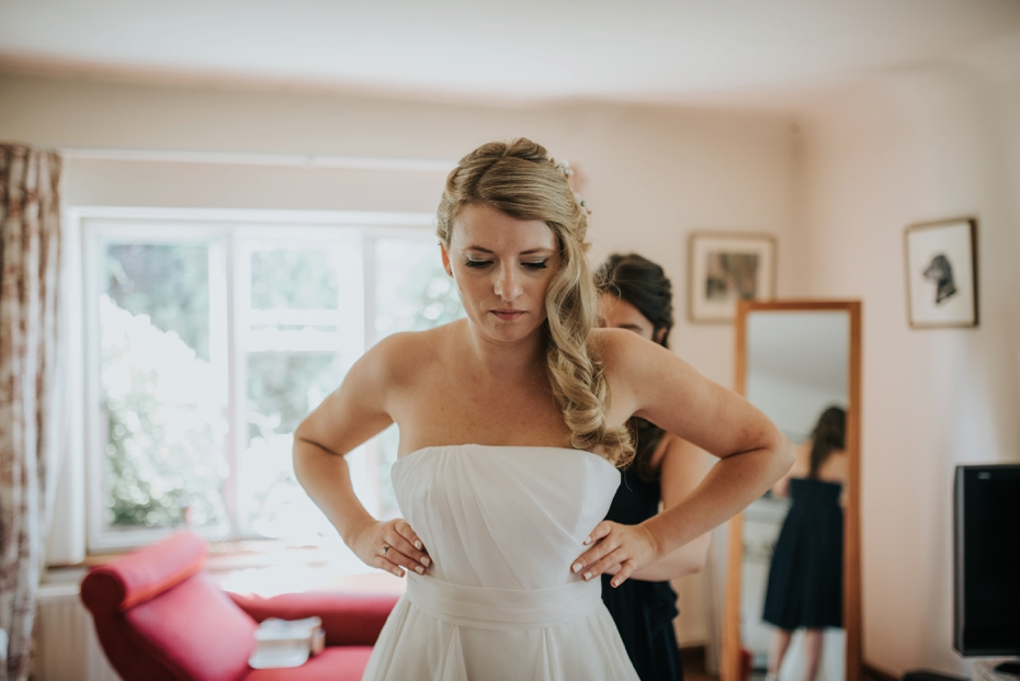 Oxford Garden Wedding- Aurelia & Luke - Lee Dann Photography-1156