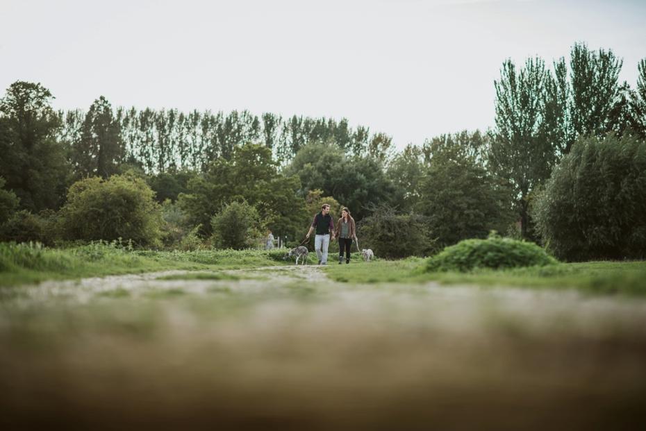 Port Meadow engagement shoot - Hannah & Christian - Lee Dann Photography - 0010
