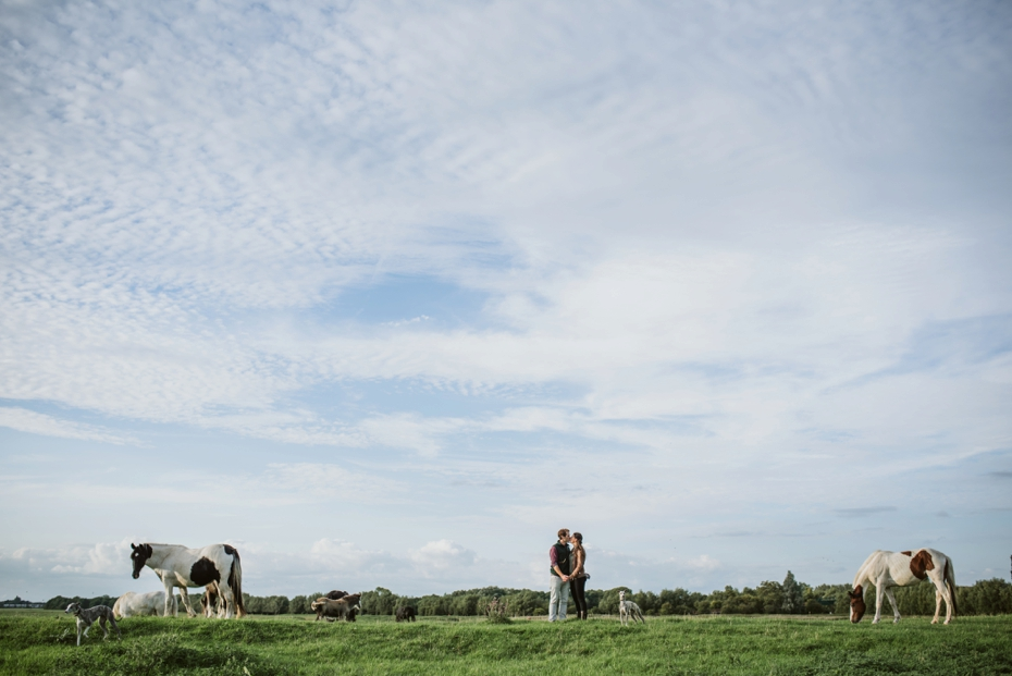 Port Meadow engagement shoot - Hannah & Christian - Lee Dann Photography - 0020