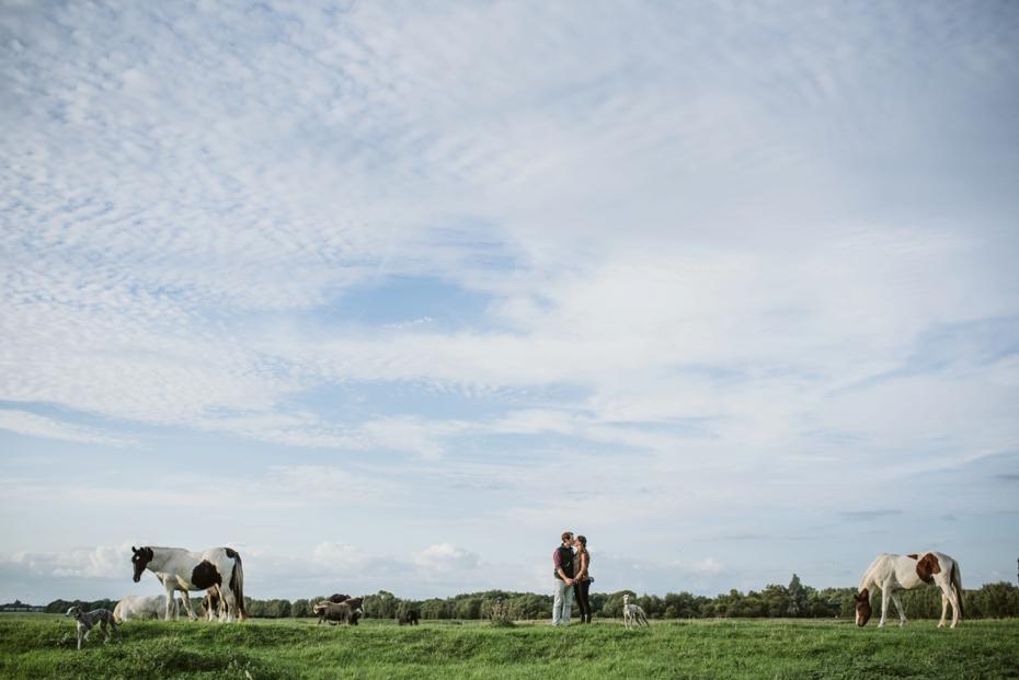 Port Meadow engagement shoot - Hannah & Christian - Lee Dann Photography - 0020