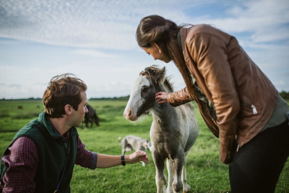 Port Meadow engagement shoot - Hannah & Christian - Lee Dann Photography - 0029