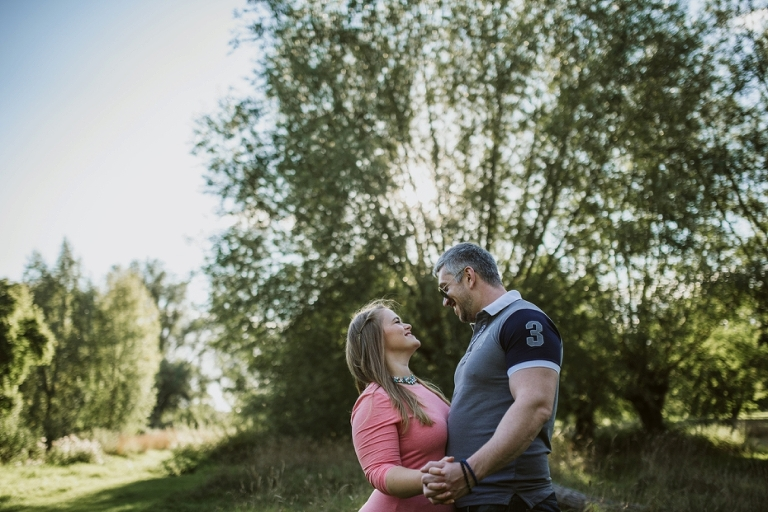 Cutteslowe park Engagement shoot