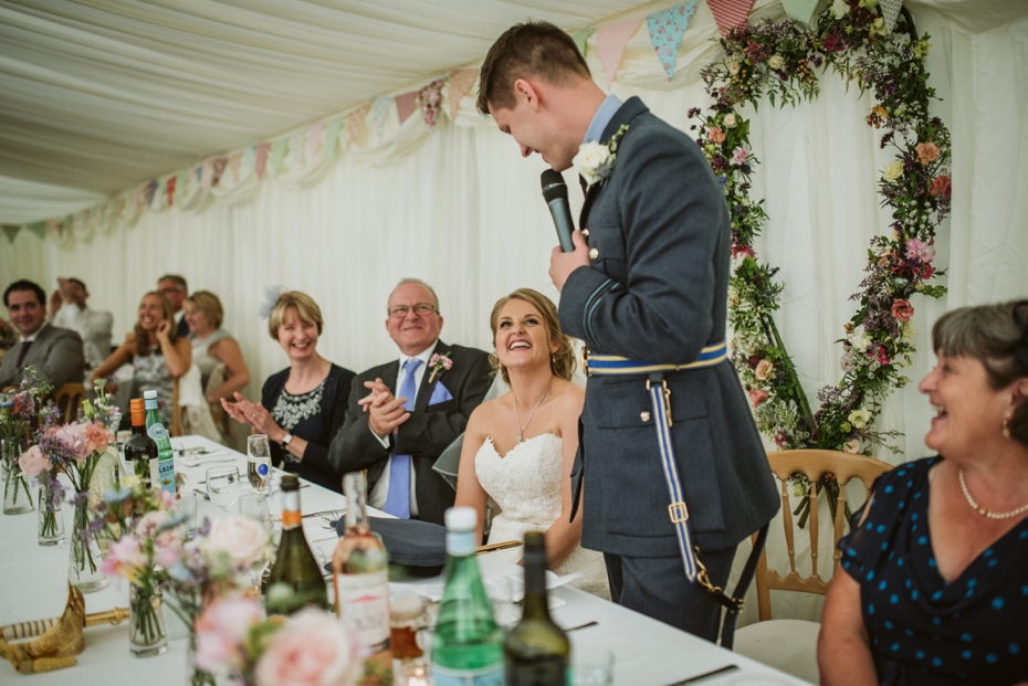 Wiltshire Garden wedding - Carly & Pete - Lee Dann Photography - 0737