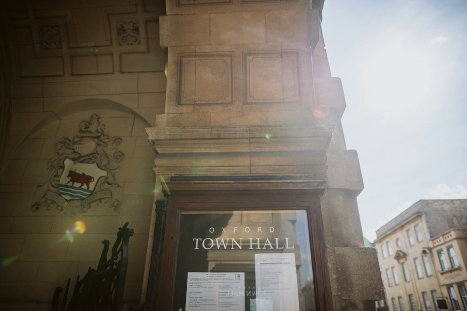 Oxford Town Hall Wedding - Anna & Dom - Lee Dann Photography - 0125