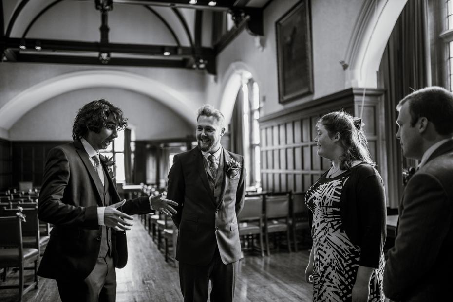 Oxford Town Hall Wedding - Anna & Dom - Lee Dann Photography - 0138