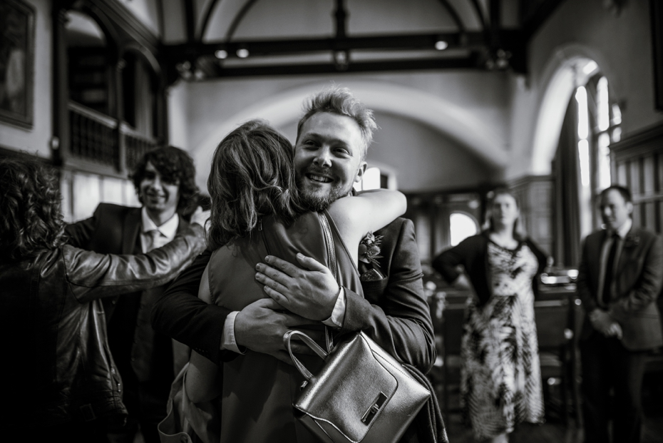 Oxford Town Hall Wedding - Anna & Dom - Lee Dann Photography - 0158