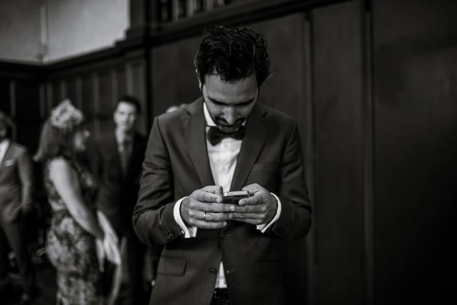 Oxford Town Hall Wedding - Anna & Dom - Lee Dann Photography - 0169