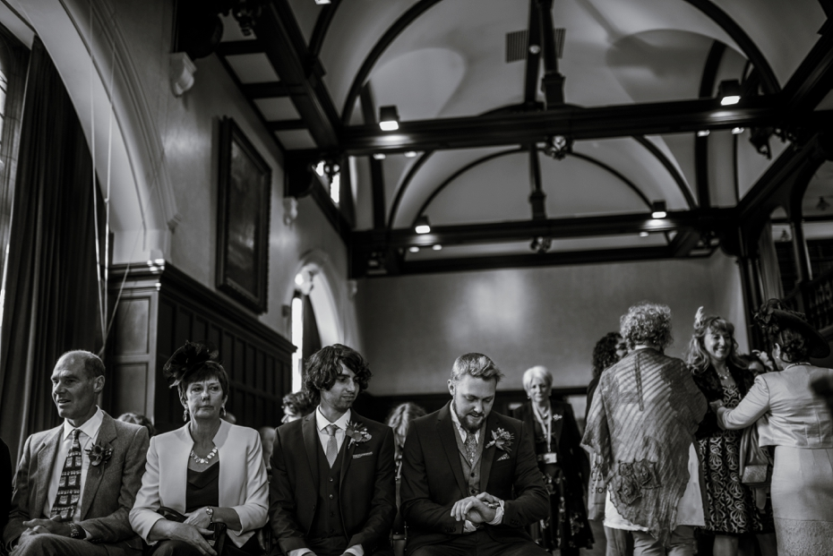 Oxford Town Hall Wedding - Anna & Dom - Lee Dann Photography - 0179