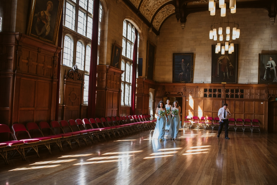 Oxford Town Hall Wedding - Anna & Dom - Lee Dann Photography - 0182