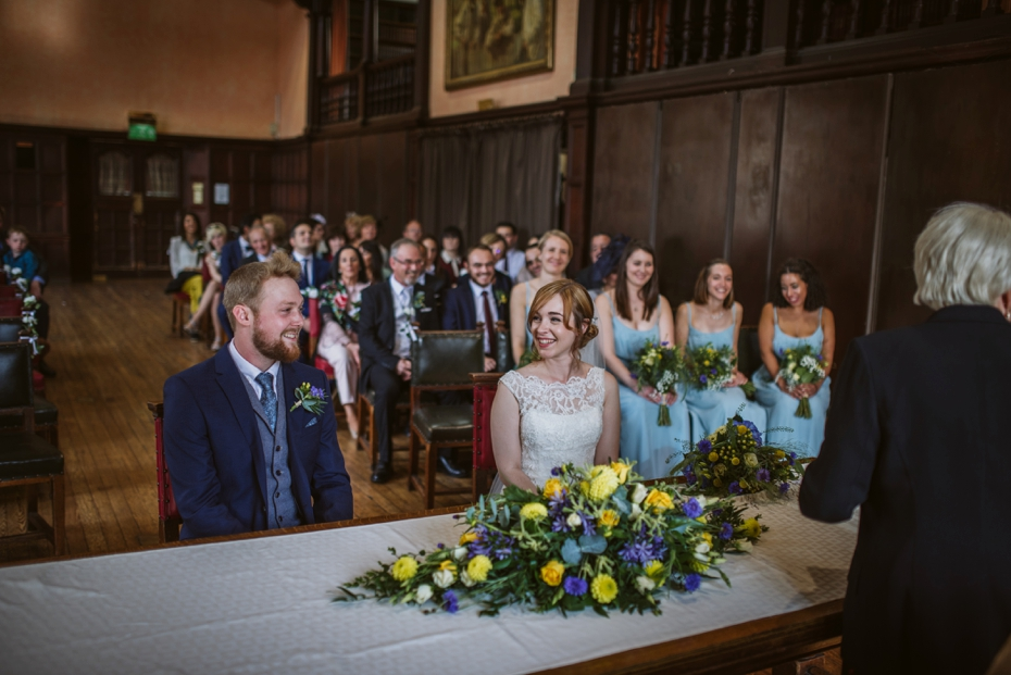 Oxford Town Hall Wedding - Anna & Dom - Lee Dann Photography - 0204