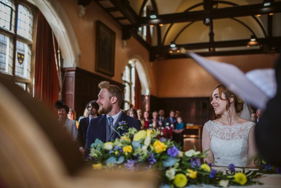 Oxford Town Hall Wedding - Anna & Dom - Lee Dann Photography - 0207