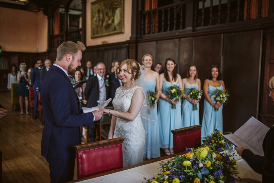 Oxford Town Hall Wedding - Anna & Dom - Lee Dann Photography - 0231