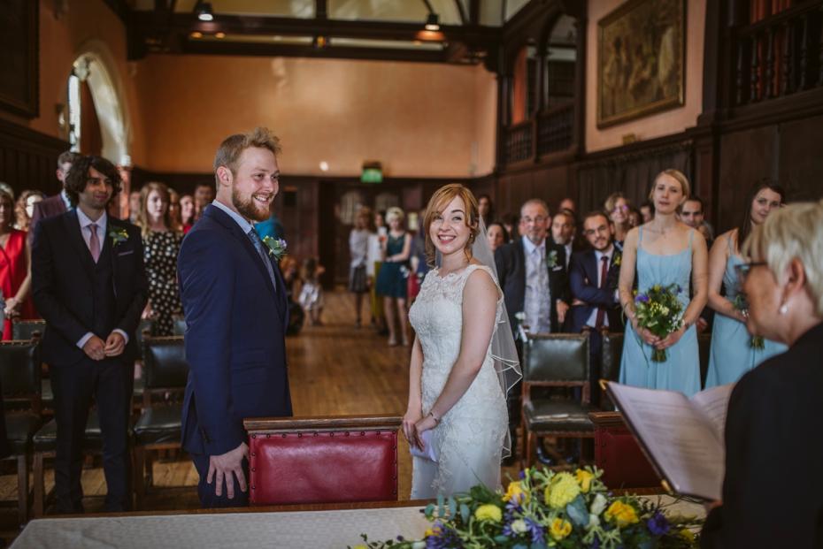 Oxford Town Hall Wedding - Anna & Dom - Lee Dann Photography - 0244