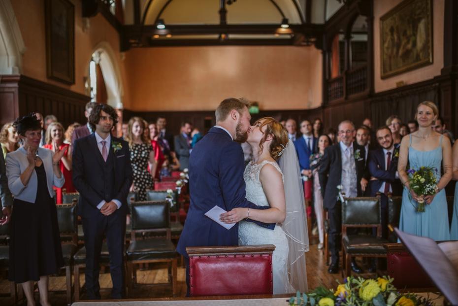 Oxford Town Hall Wedding - Anna & Dom - Lee Dann Photography - 0247