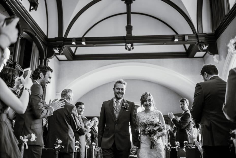 Oxford Town Hall Wedding - Anna & Dom - Lee Dann Photography - 0275