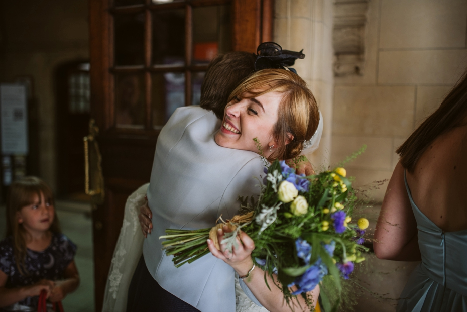 Oxford Town Hall Wedding - Anna & Dom - Lee Dann Photography - 0286