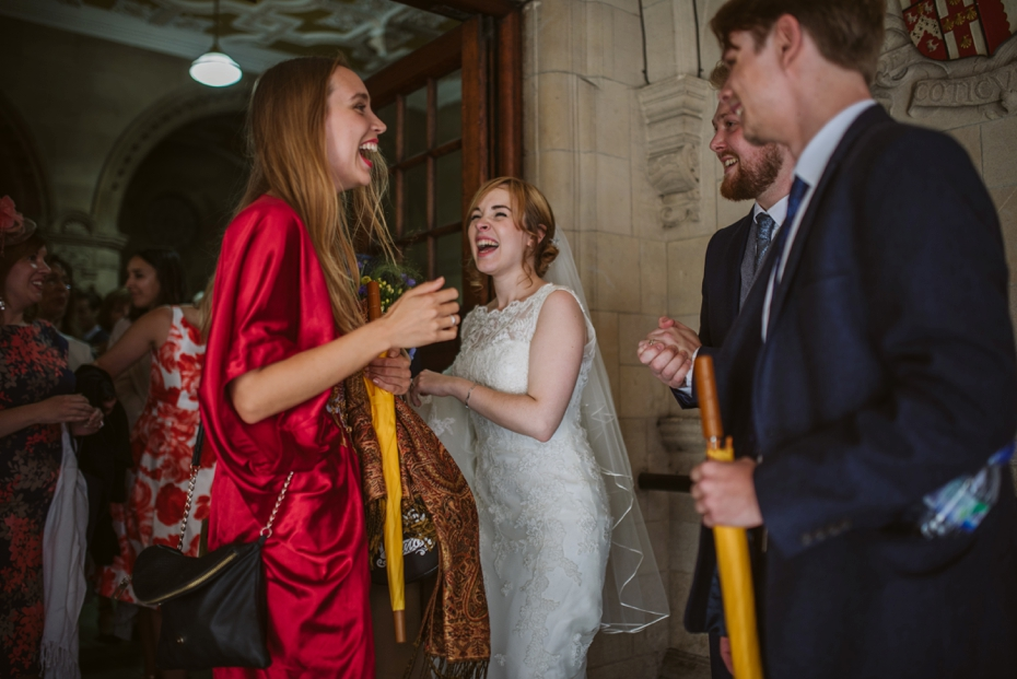 Oxford Town Hall Wedding - Anna & Dom - Lee Dann Photography - 0291