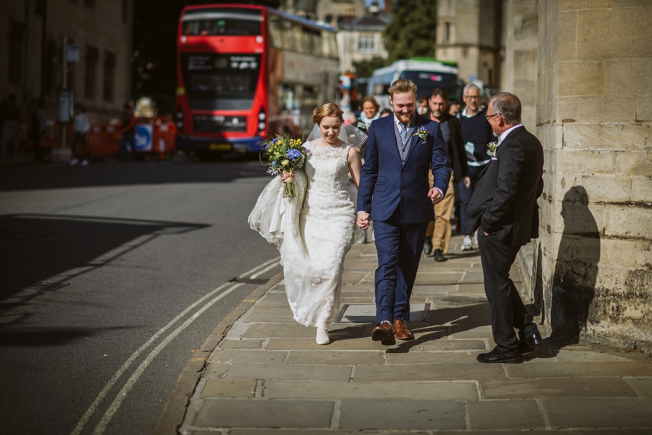 Oxford Town Hall Wedding - Anna & Dom - Lee Dann Photography - 0319