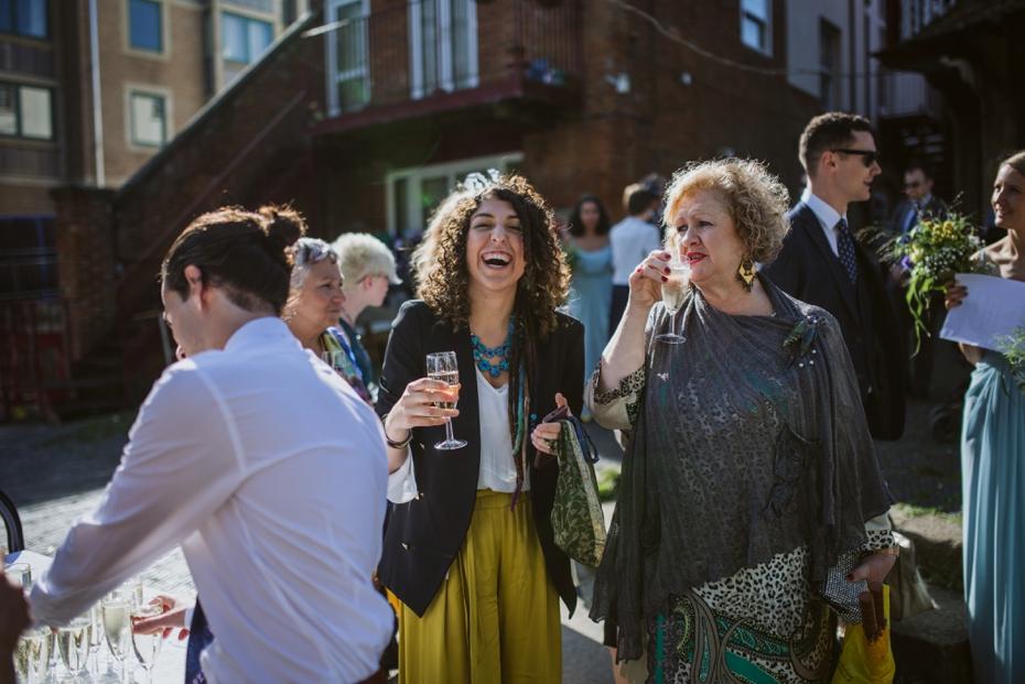 Oxford Town Hall Wedding - Anna & Dom - Lee Dann Photography - 0342