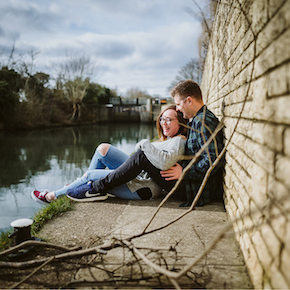 Abingdon Engagement Photography, Donna & Alex
