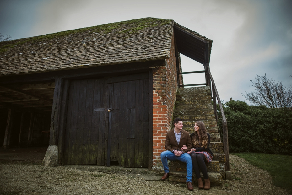 Tithe barn pre shoot - Chloe & Chris - Lee Dann Photography0019